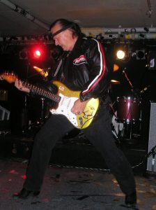 Dick Dale performing at the Middle East in Massachusetts, 2005.
